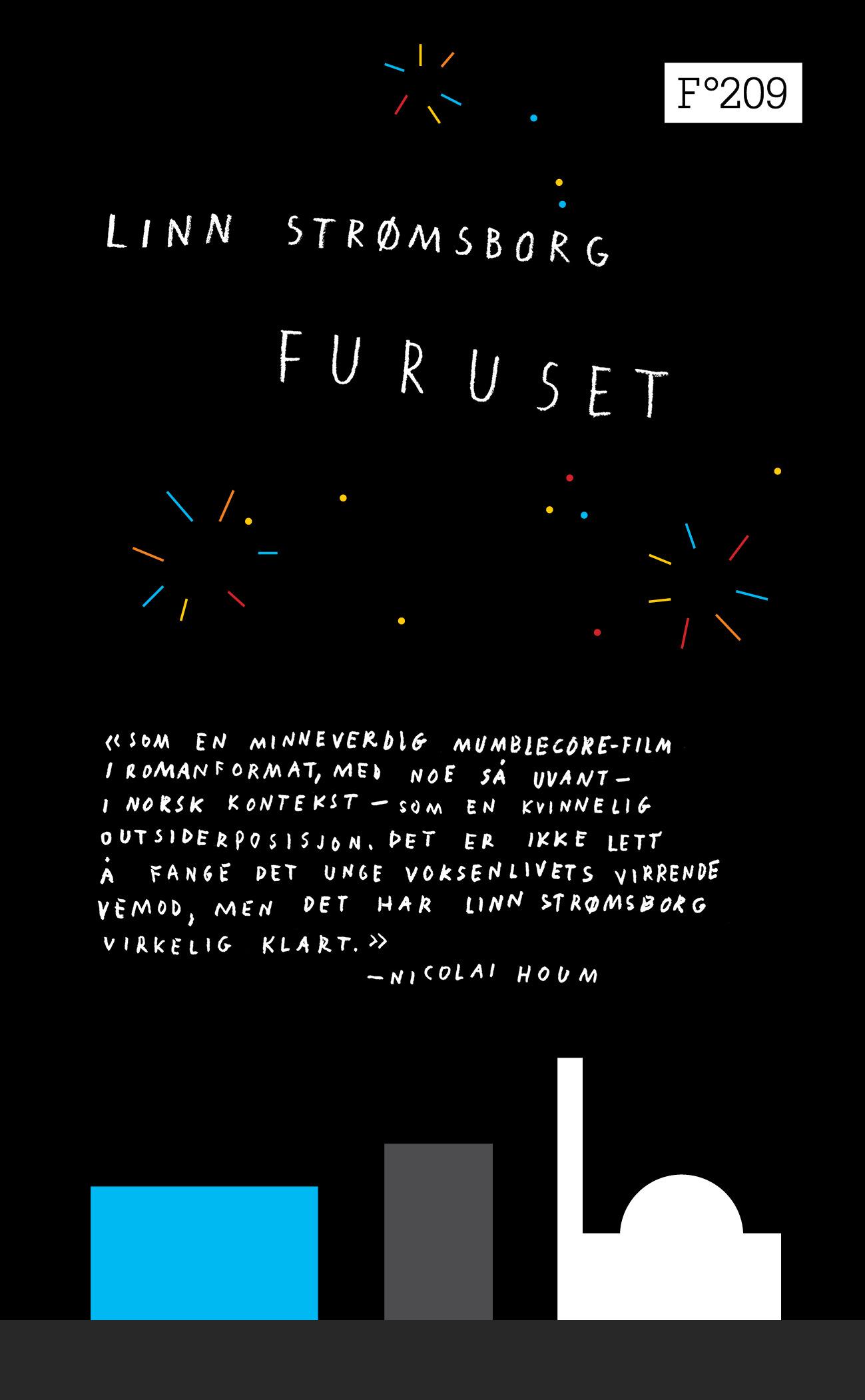 Nyttårsraketter og boligblokker på Furuset bokcover
